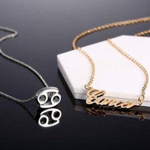 Jewelry - Cancer Zodiac Constellation Necklace